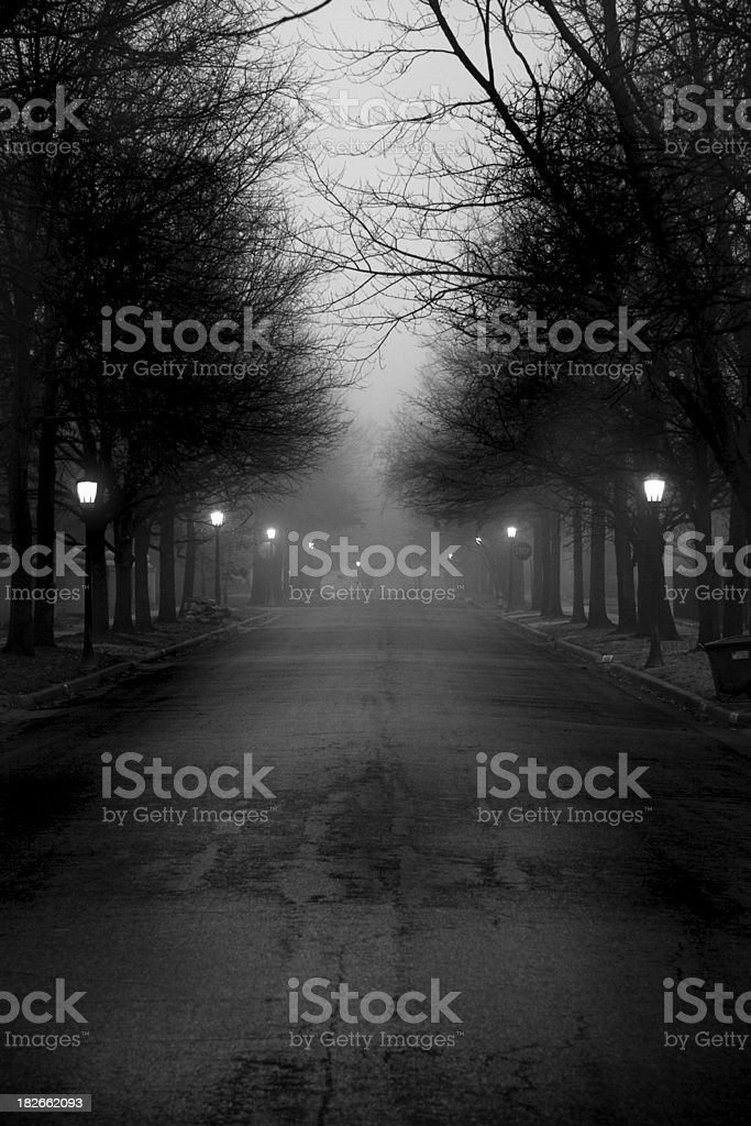 Belmont Street royalty-free stock photo
