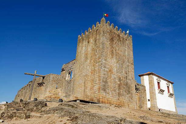 Belmonte Castle, Portugal stock photo