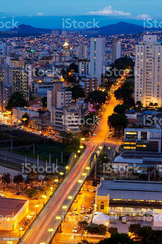 Belo Horizonte, capital of Minas Gerais state, Brazil stock photo