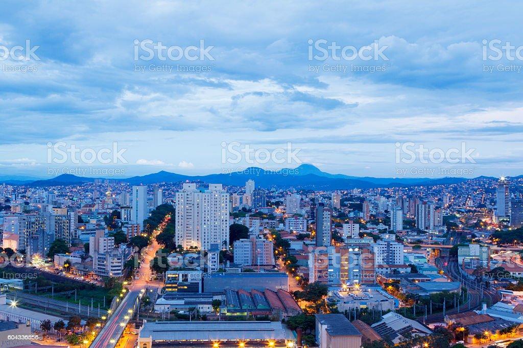 Belo Horizonte city, Minas Gerais, Brazil stock photo