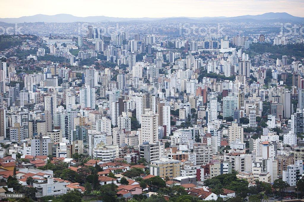 Belo Horizonte, concrete jungle stock photo