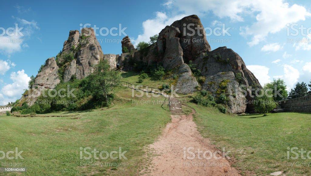 Belogradchik fortress stock photo