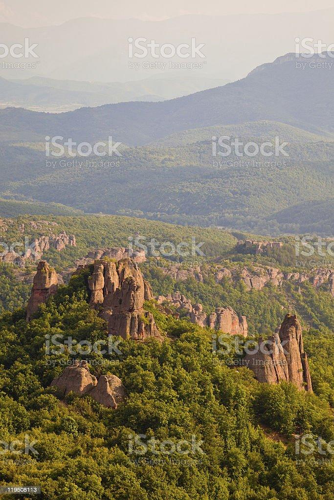 Belogradchik Rocks Vista stock photo