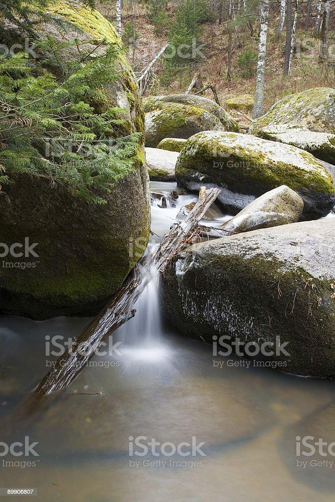 Belokurikha river royalty-free stock photo