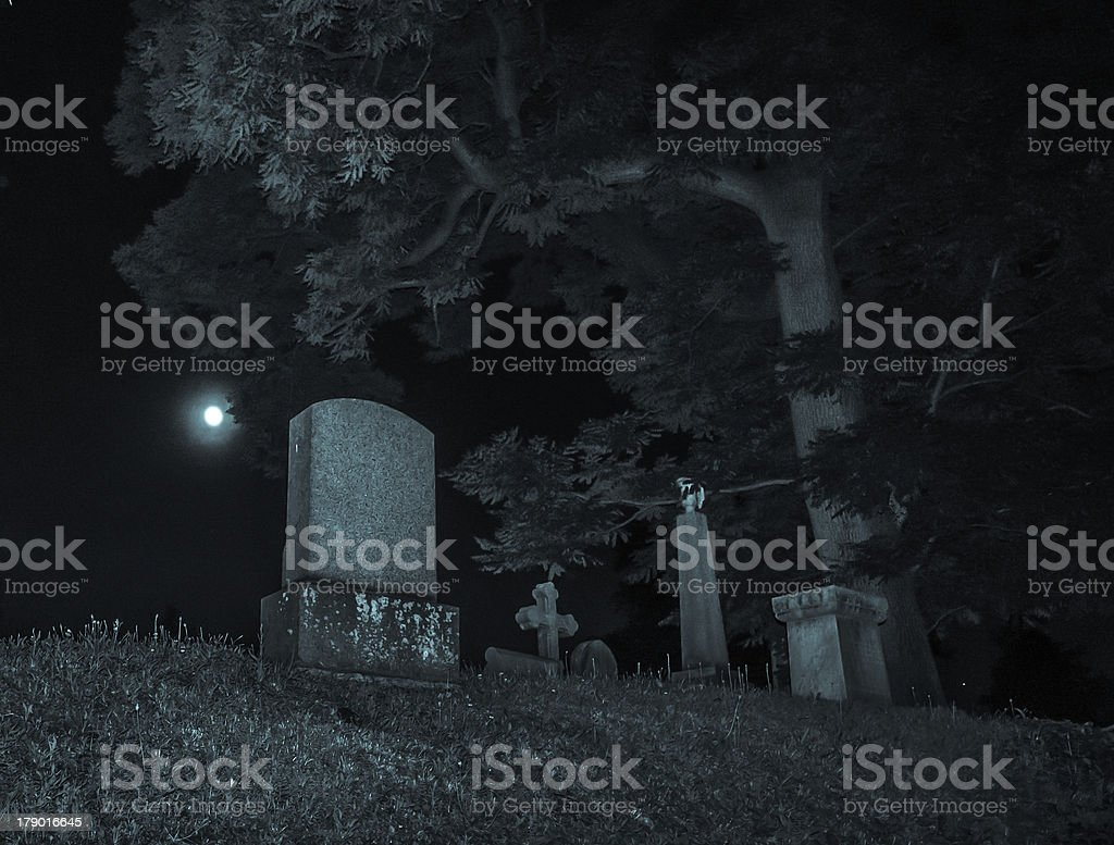 Below the Grave royalty-free stock photo