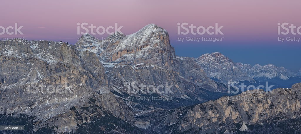 Belt of Venus royalty-free stock photo