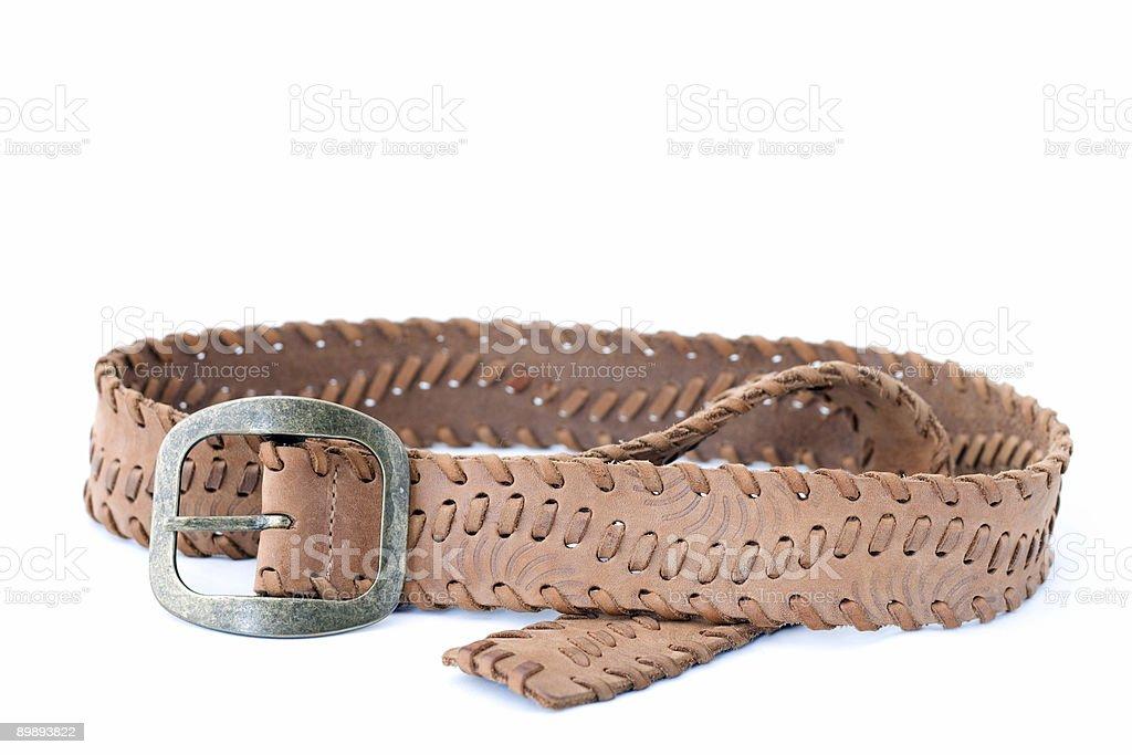 Belt royalty-free stock photo