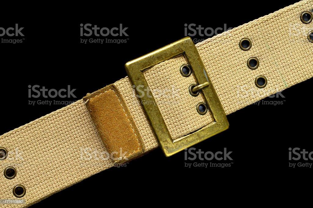 Belt up! stock photo