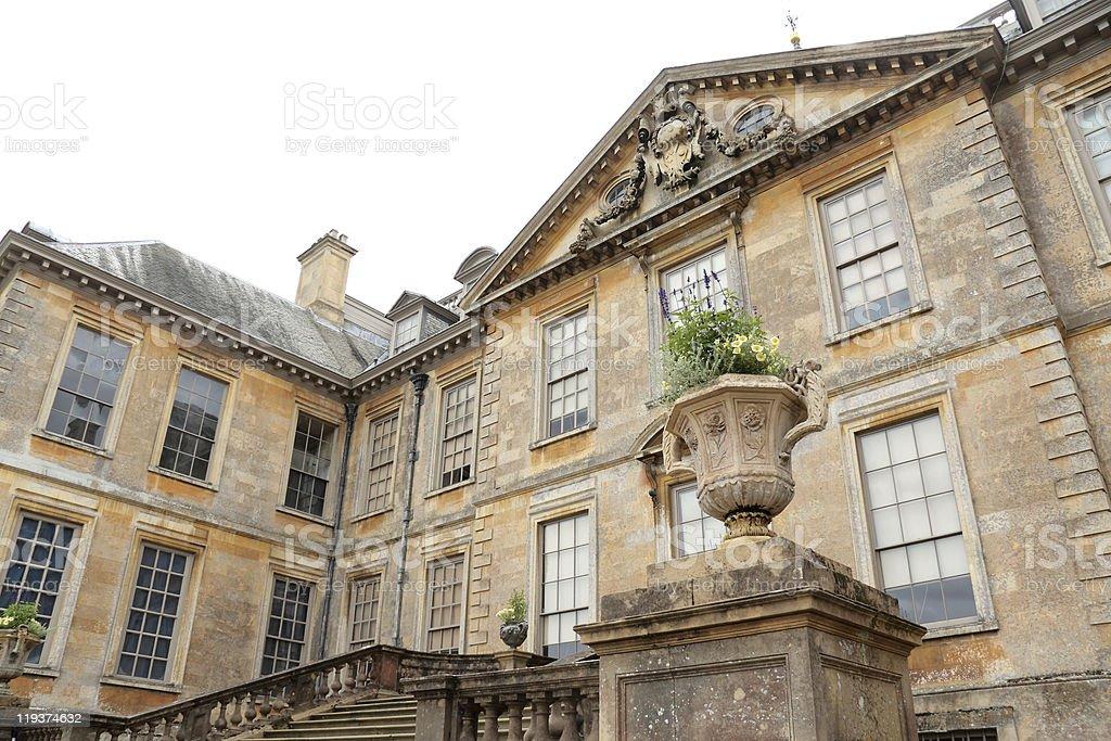 Belton House, Lincolnshire, England stock photo