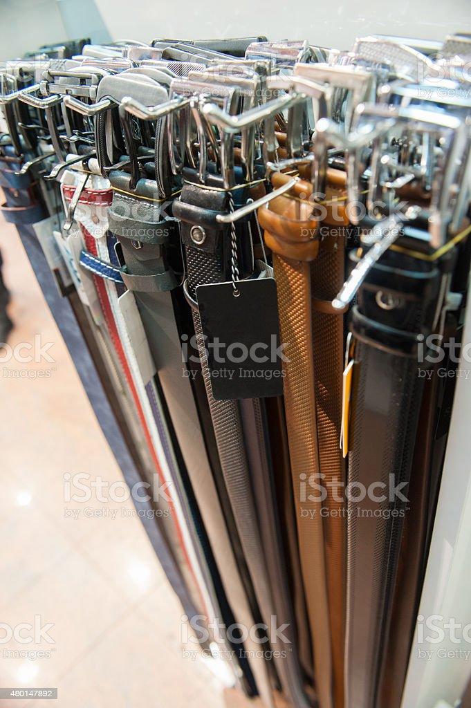 Belts stock photo