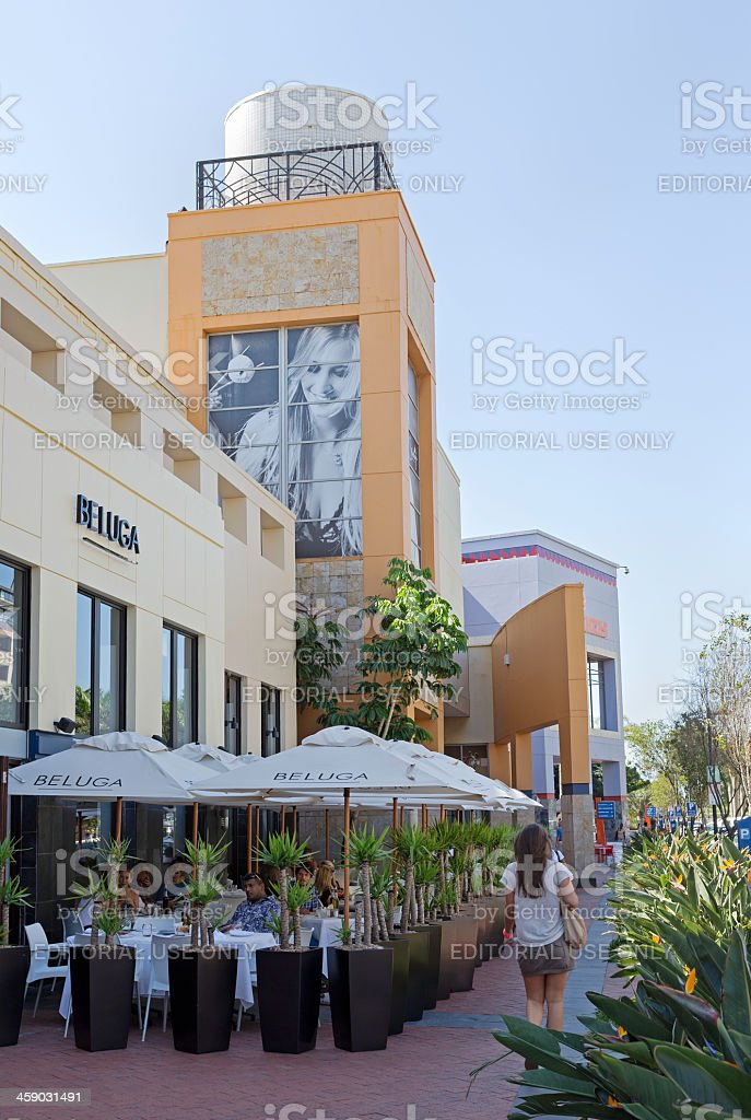 Beluga Restaurant in Gateway Shopping Centre royalty-free stock photo