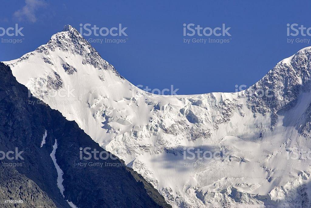 Beluha - 4506m. Altay. royalty-free stock photo
