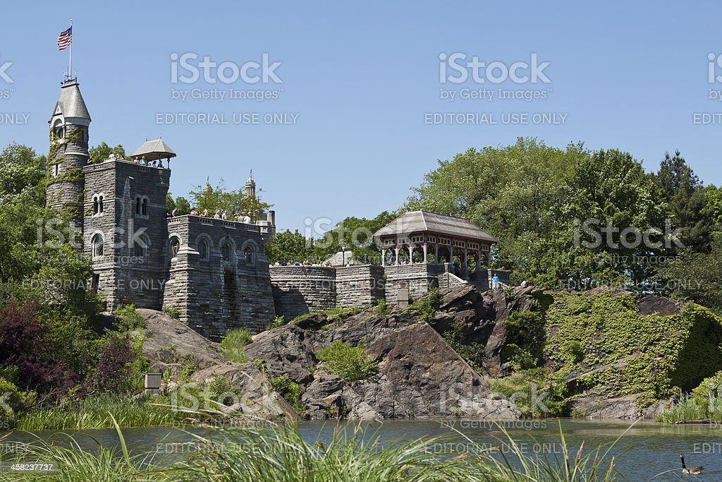 Belvedere Castle, Manhattan. royalty-free stock photo
