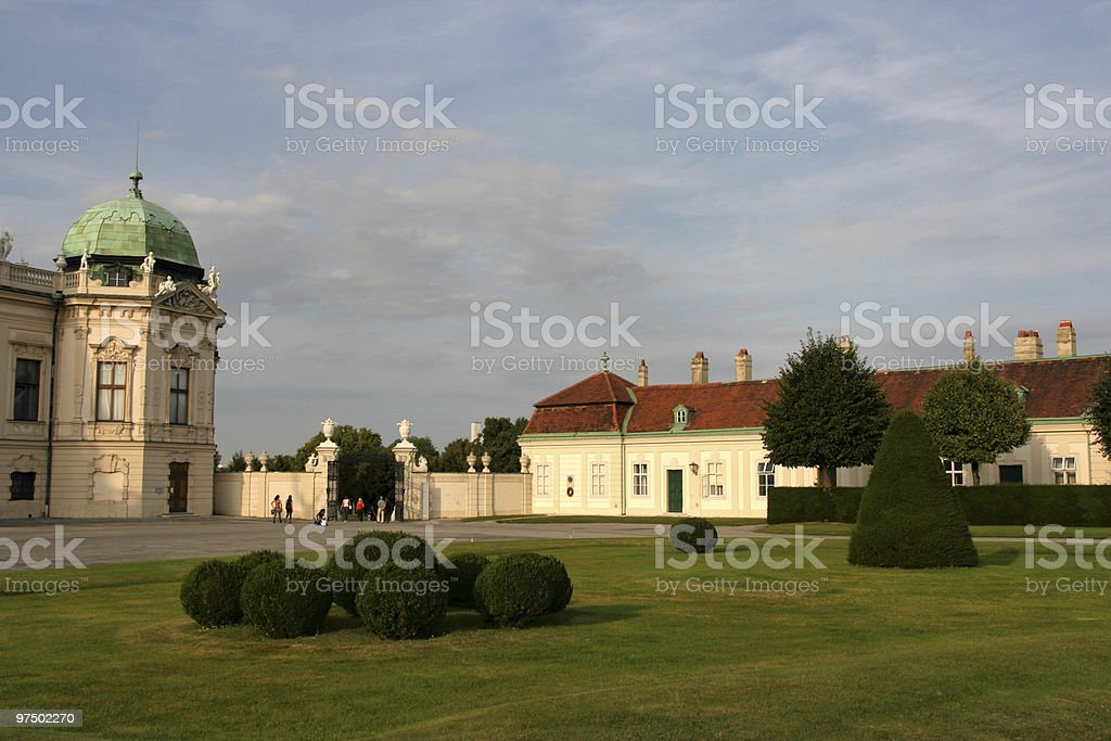 Belvedere Castle royalty-free stock photo