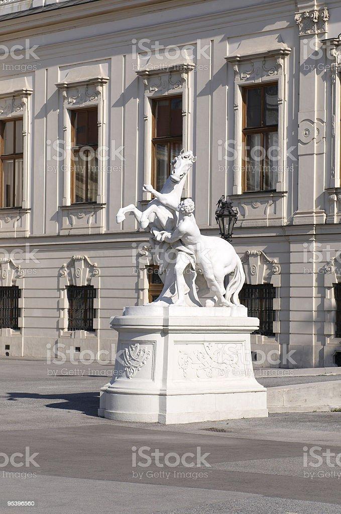 Belvedere palace Hotel – details Lizenzfreies stock-foto