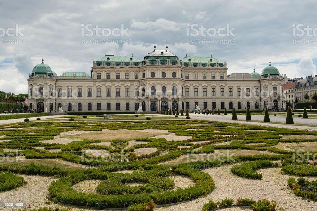 Palácio Belvedere foto royalty-free