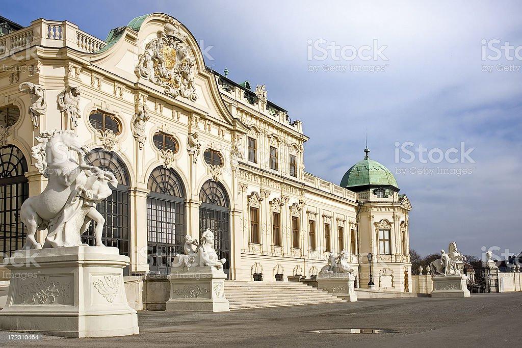 Belvedere (Vienna) royalty-free stock photo