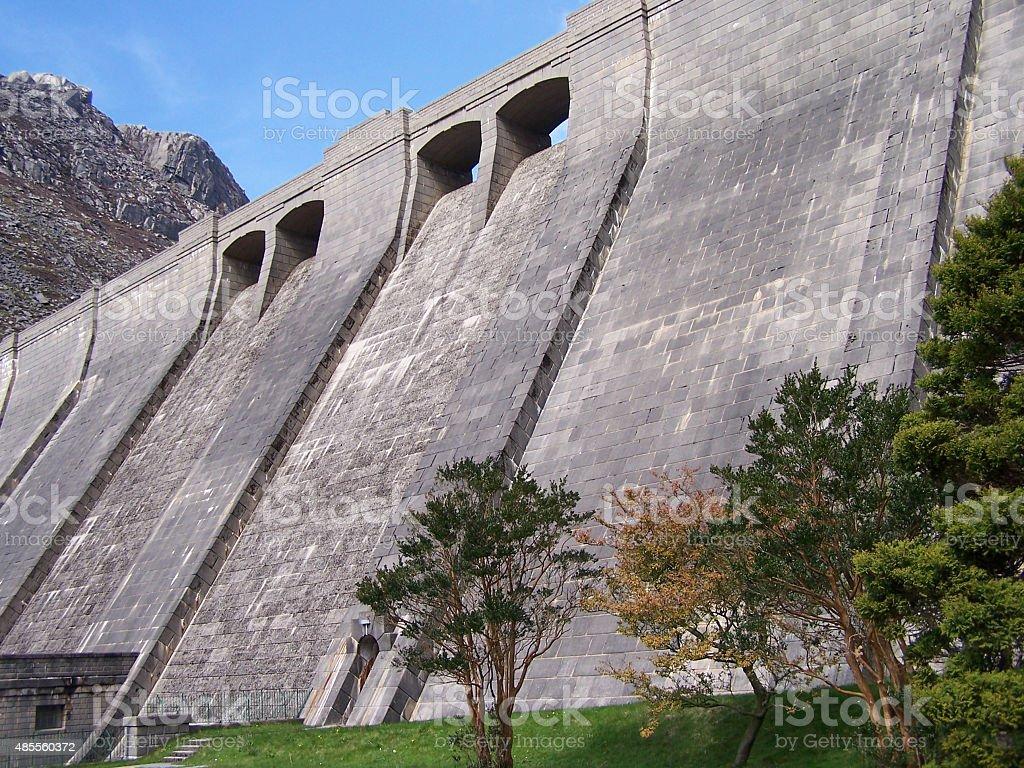 Ben Crom Dam stock photo