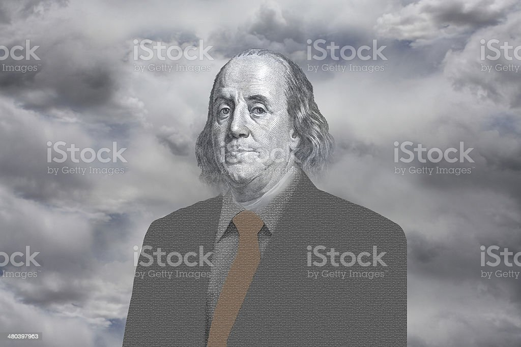 Ben Franklin stock photo