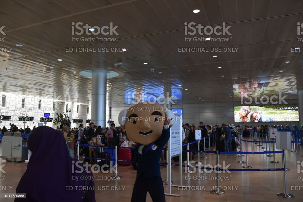 Ben Gurion Airport, Israel stock photo