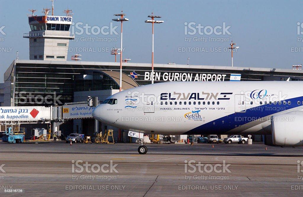 Ben Gurion International Airport in Tel Aviv Israel