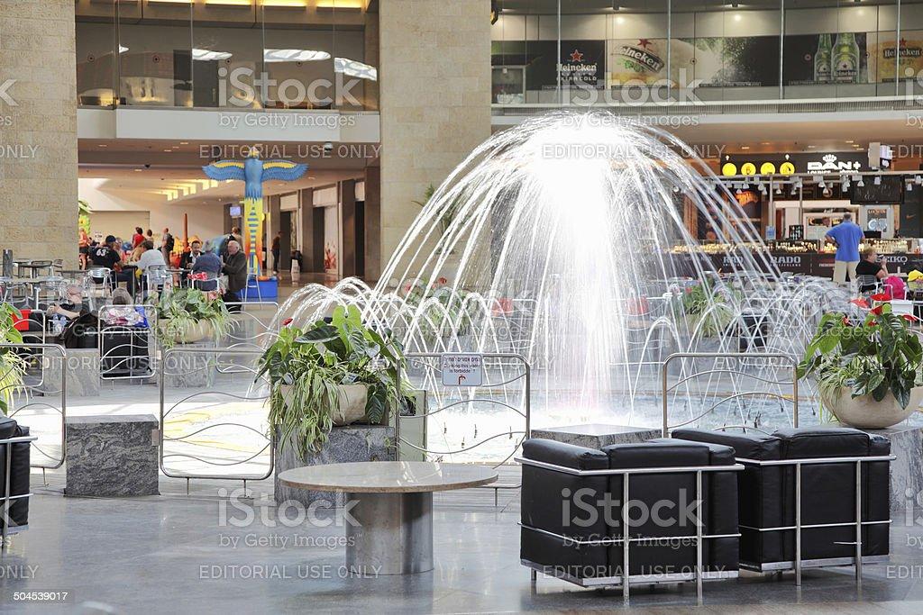 Ben Gurion International Airport, Terminal 3 stock photo
