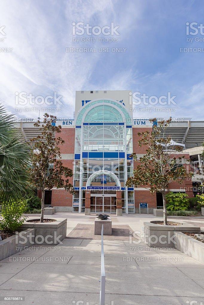 Ben Hill Griffin Stadium at the University of Florida stock photo