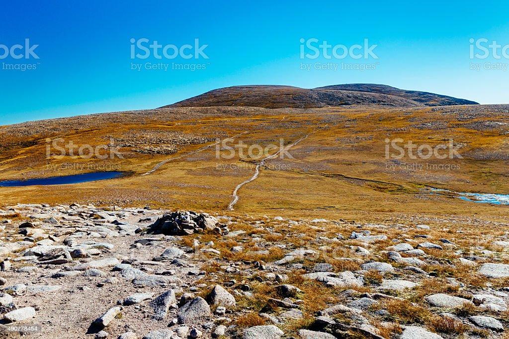 Ben MacDhui, Scotland stock photo