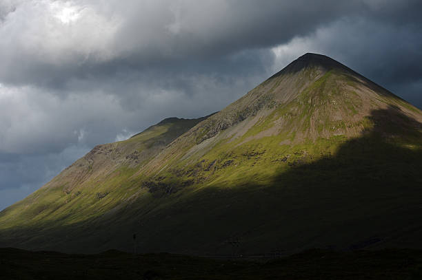 Ben Nevis - Isle of Skye, Scotland stock photo
