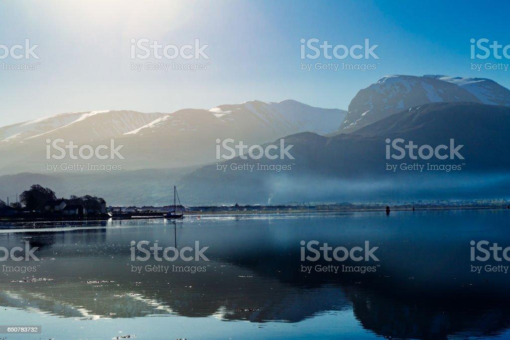 Ben Nevis mountain, Scotland stock photo