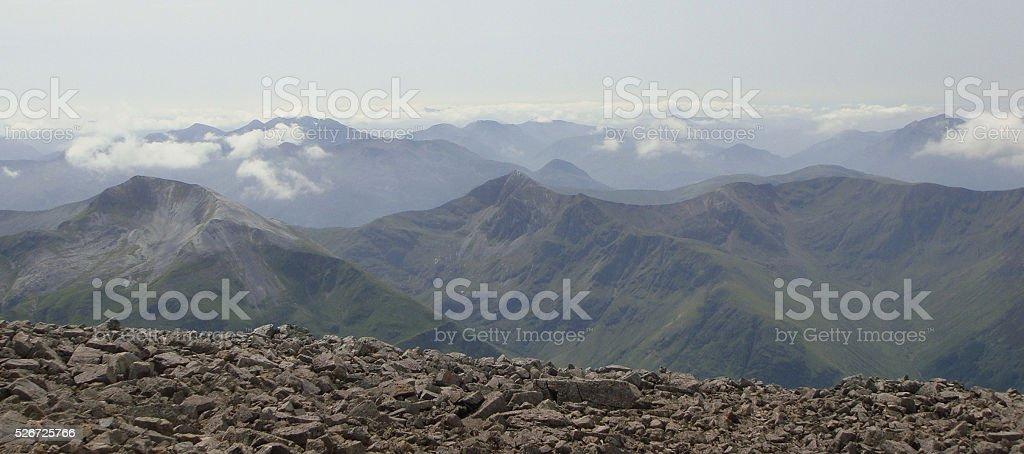 Ben Nevis Range stock photo