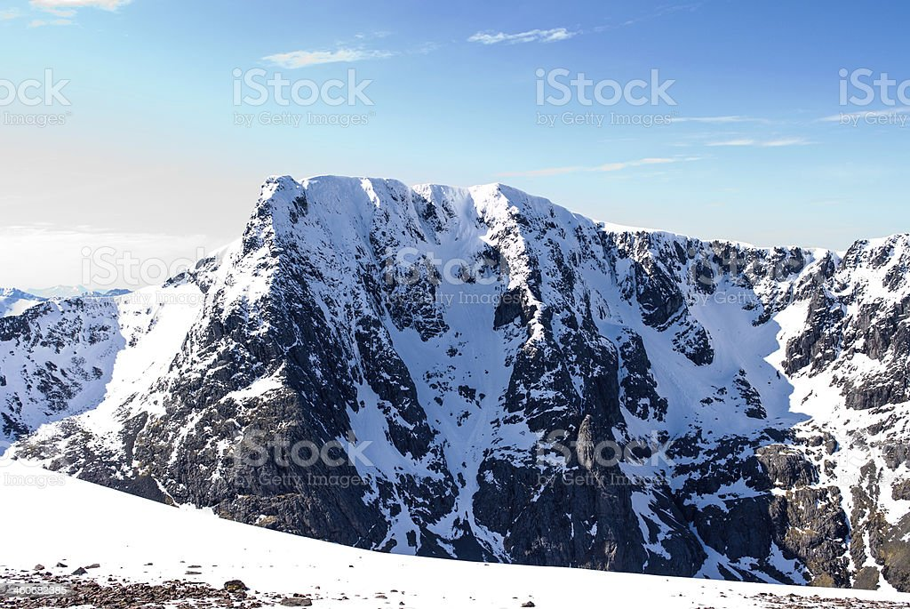 Ben Nevis Scotland stock photo