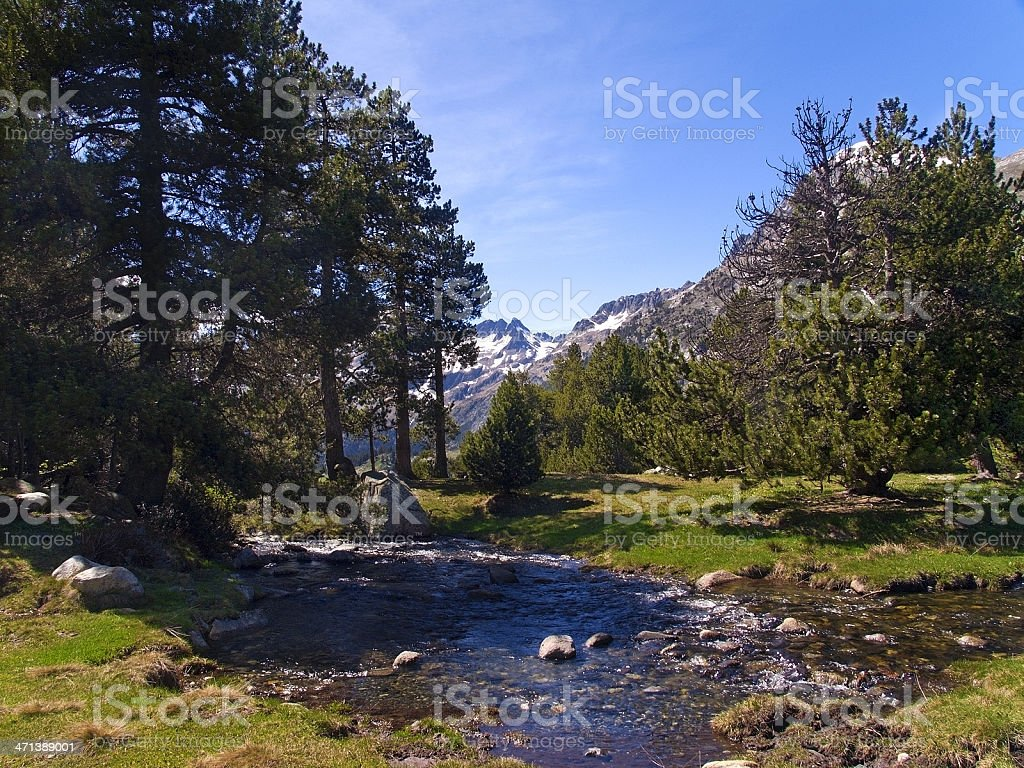 Benasque Valley - foto de stock