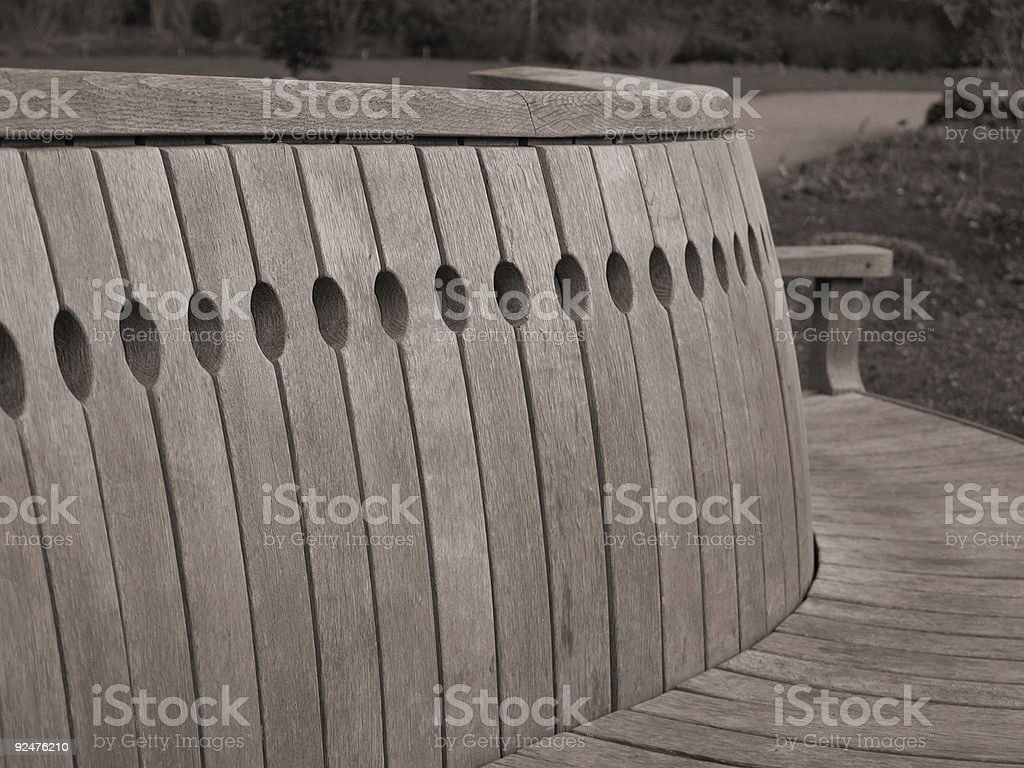 Bench A royalty-free stock photo