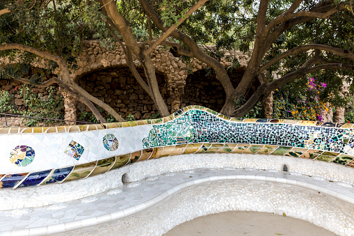 Bench in Park Güell