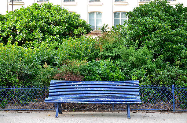 Banc dans le parc, à Paris - Photo