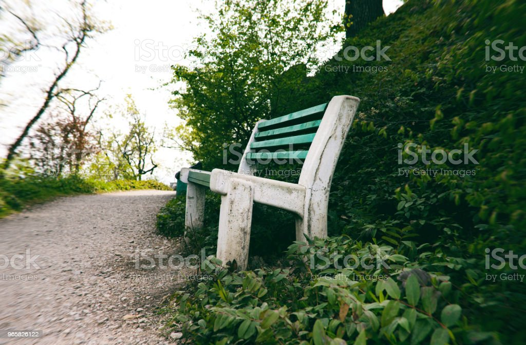 Bench in the park - Royalty-free Beauty Stock Photo