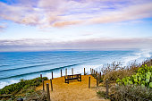 This serene overlook can be found at Torrey Pines State Reserve in San Diego