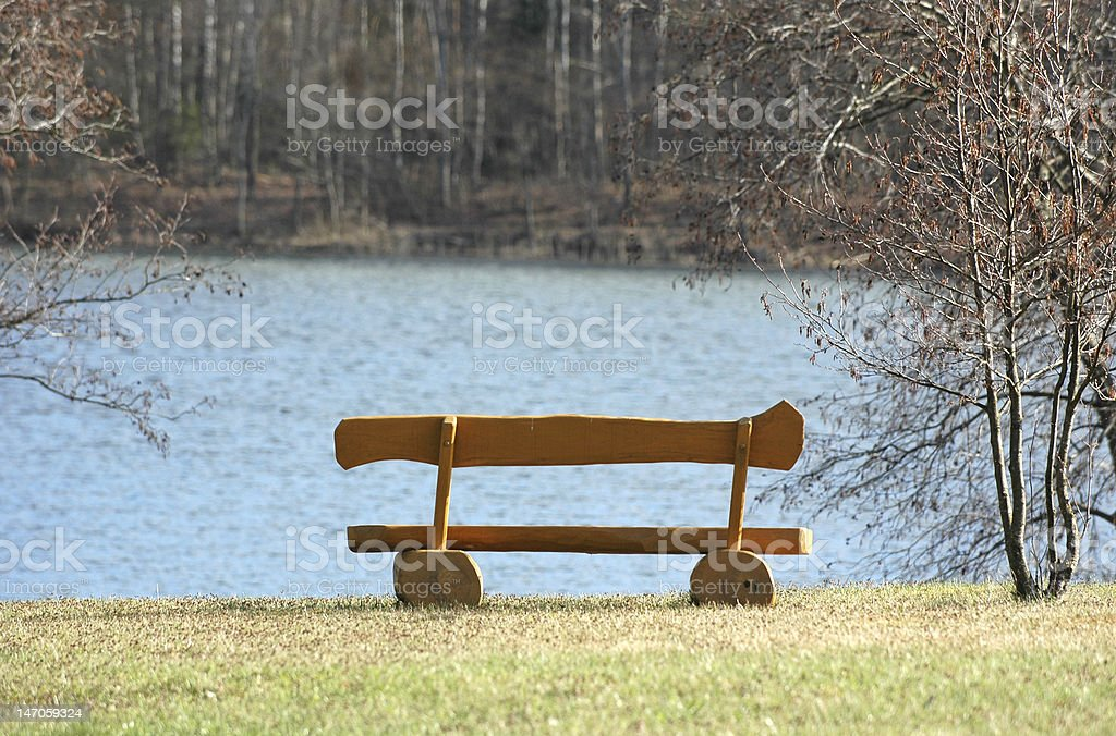Bench royalty-free stock photo