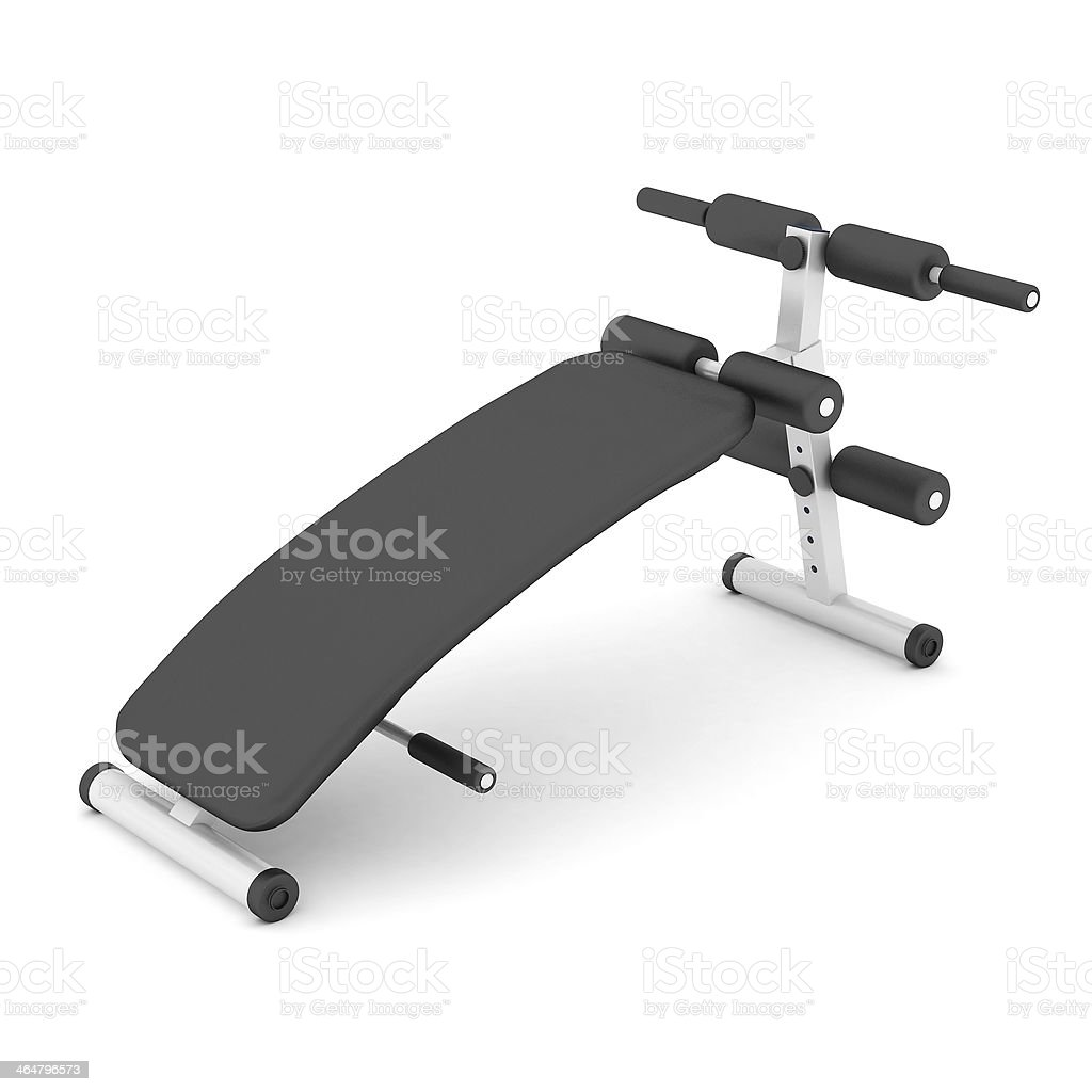 bench press Isoliert – Foto