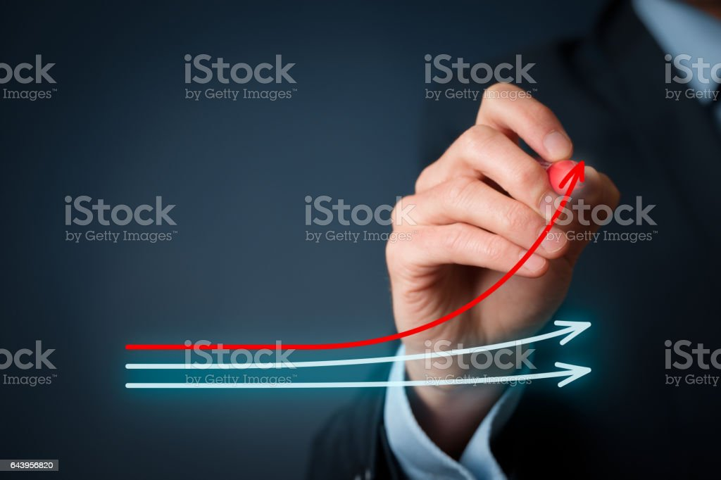 Benchmarking stock photo