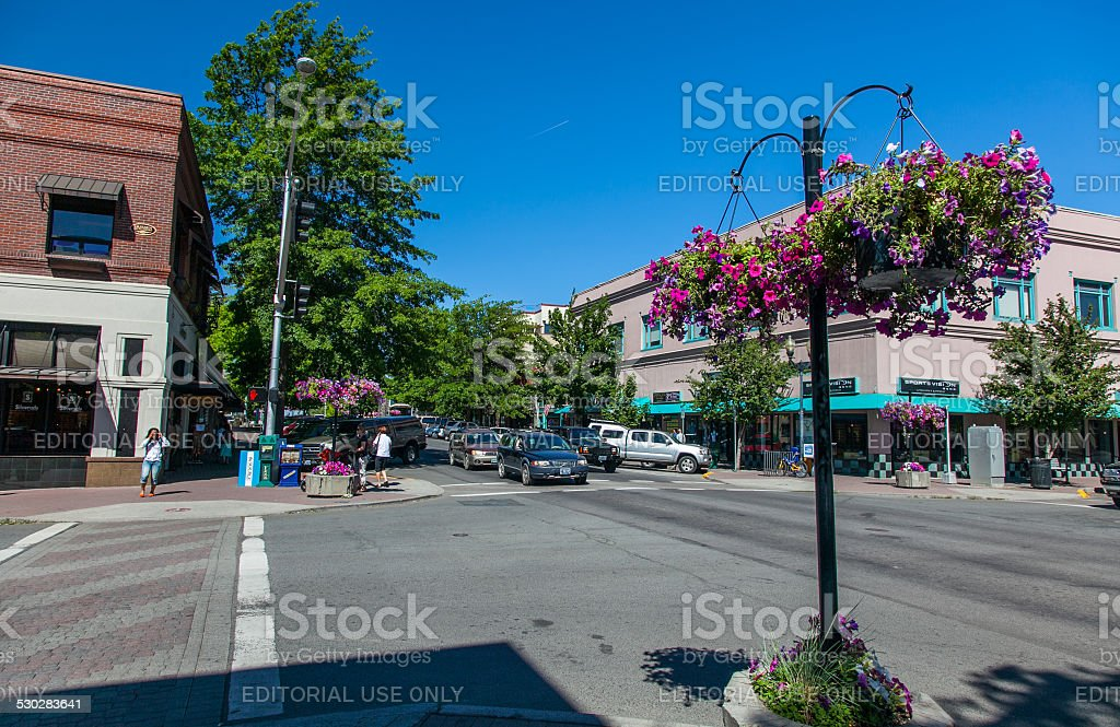 Bend, Oregon stock photo