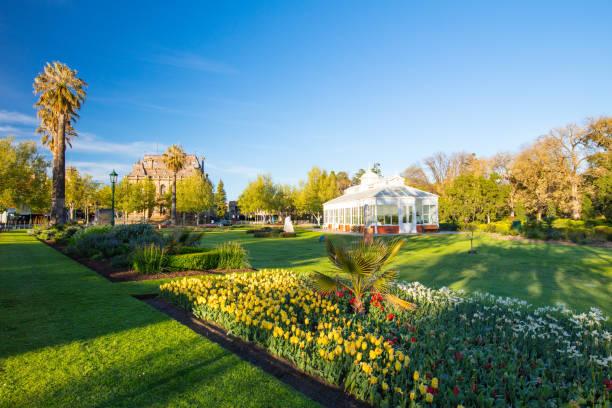 Bendigo Conservatory stock photo