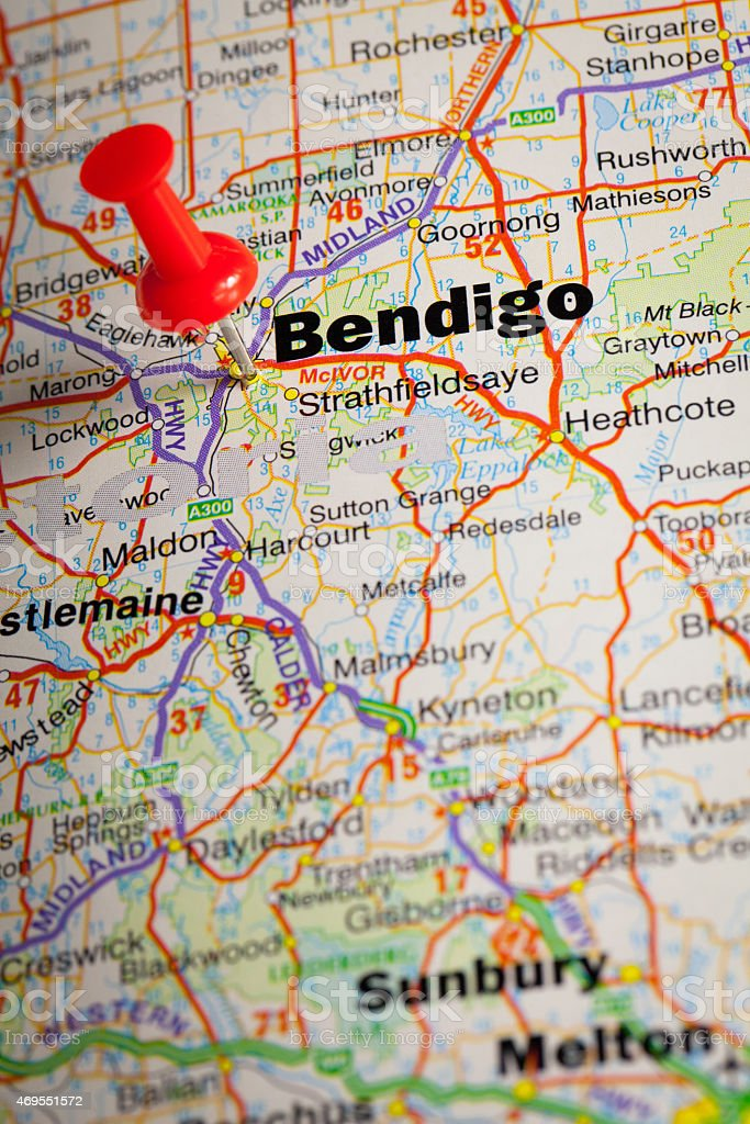Bendigo stock photo