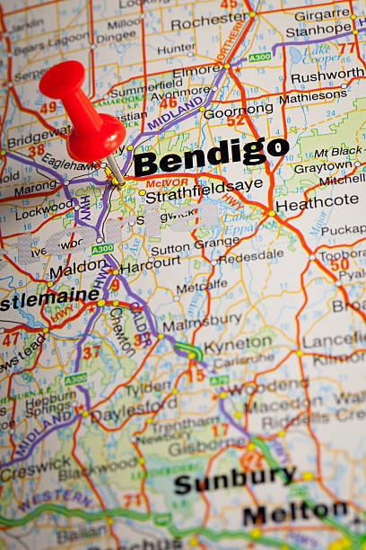 Bendigo stock photo