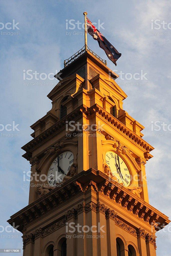 bendigo time stock photo