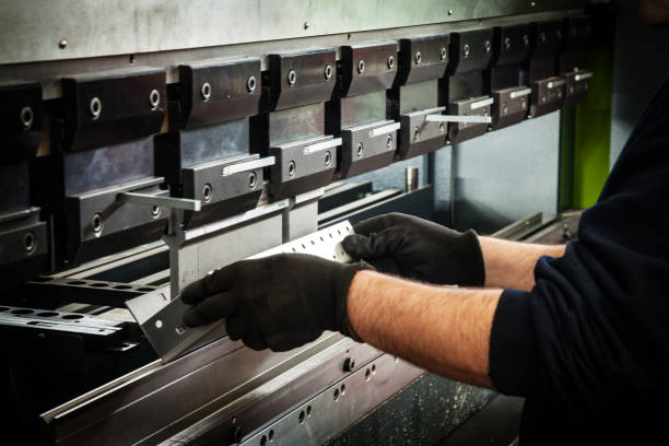 CNC bending machine CNC bending machine bending stock pictures, royalty-free photos & images