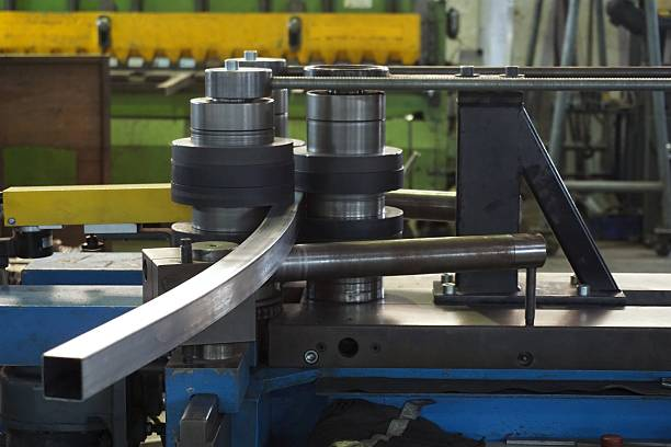 bending tube machine working of bending tube machine in the factory bending stock pictures, royalty-free photos & images
