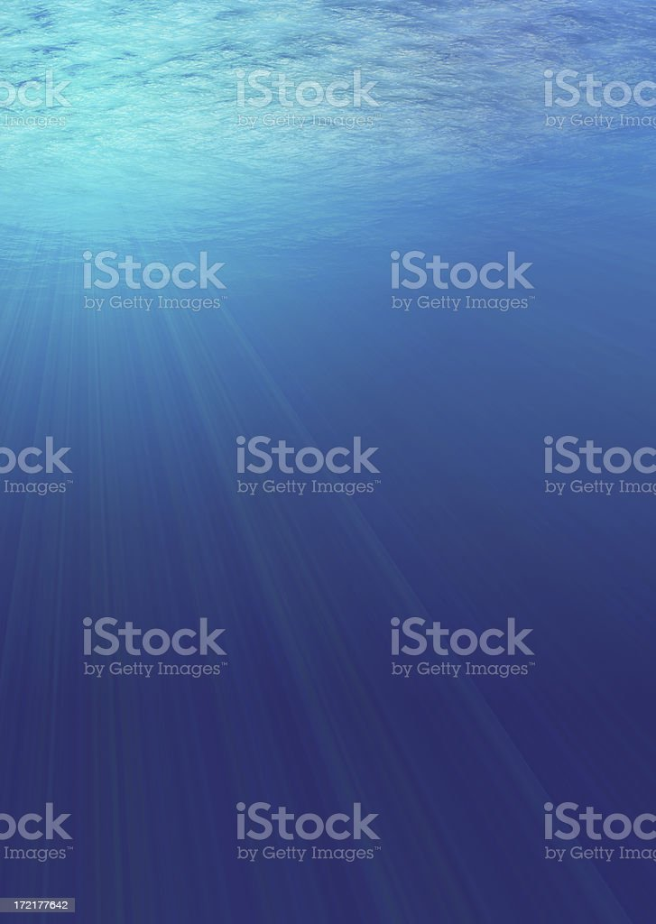beneath the waves royalty-free stock photo