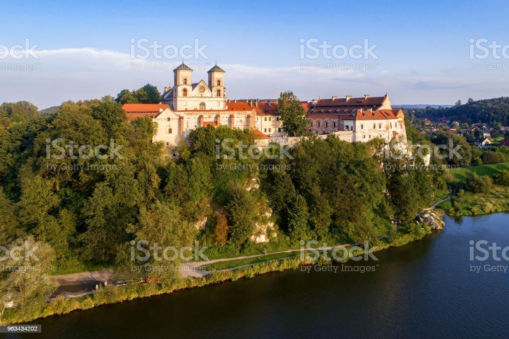 Benedictine abbey in Tyniec, Poland - Zbiór zdjęć royalty-free (Architektura)